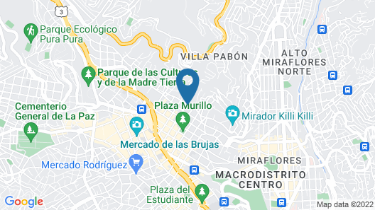Hospedaje Milenio Map