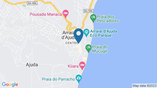 Pousada Fragata Map