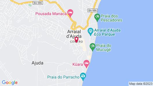 Casa Brilho de Arraial Map