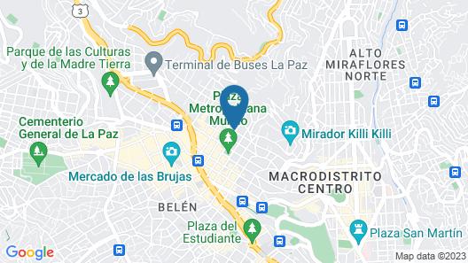 Apart Hotel Victoria Map