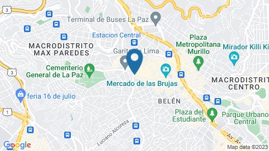 Hotel La Joya Map