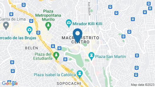 Hotel LP Columbus Map