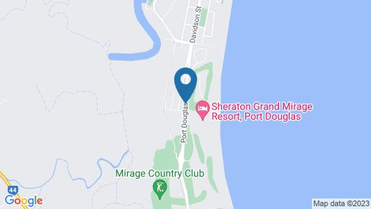 The Mediterranean Port Douglas Map