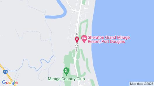 Sheraton Grand Mirage Resort, Port Douglas Map