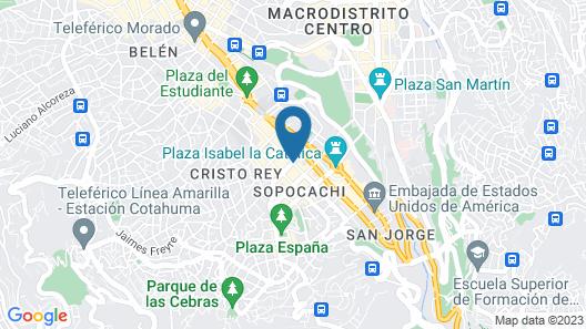 Selina Shared La Paz Map