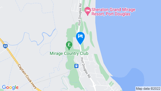 Oaks Port Douglas Resort Map