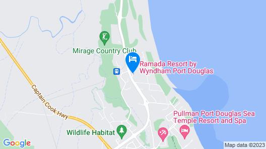 Ramada Resort by Wyndham Port Douglas Map