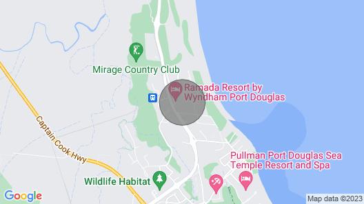 D339 @ Ramada Resort Free Wifi & 2 Push Bikes Map