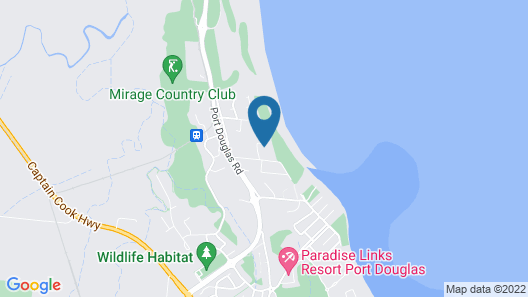 Frangipani Bed & Breakfast Map