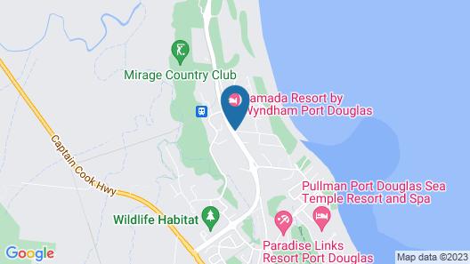 Silkari Lagoons Port Douglas Map