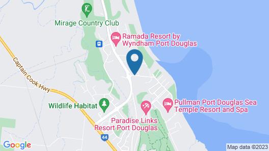 Titree Resort Holiday Apartments Map
