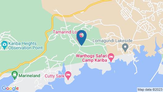 Tamarind Lodge Map