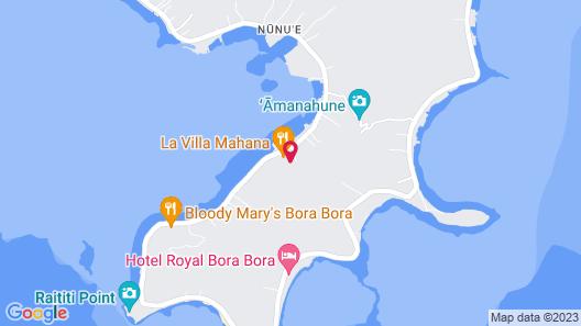 Villa Rea Hanaa Map