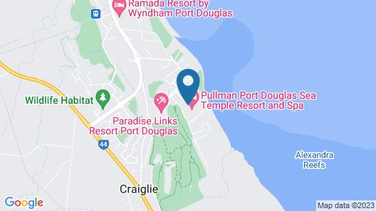 Sea Temple - 131 Luxury Swimout Map