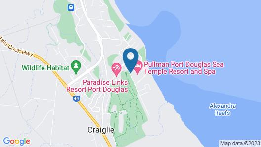 Sea Temple Port Douglas 3 Bedroom Luxury Villa Map