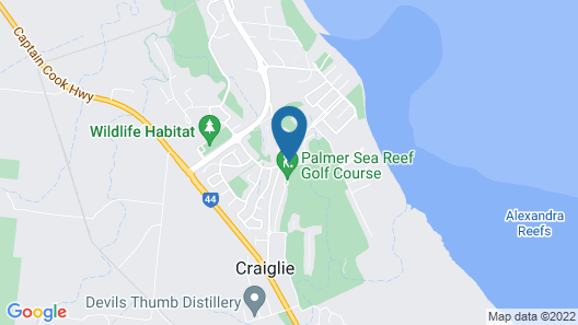 Paradise Links Resort Port Douglas Map