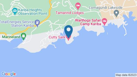 Cutty Sark Hotel Map
