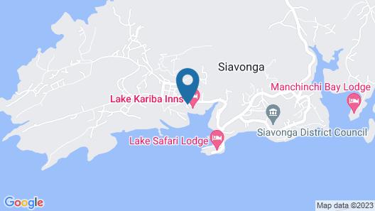 Lake Kariba Inns Map
