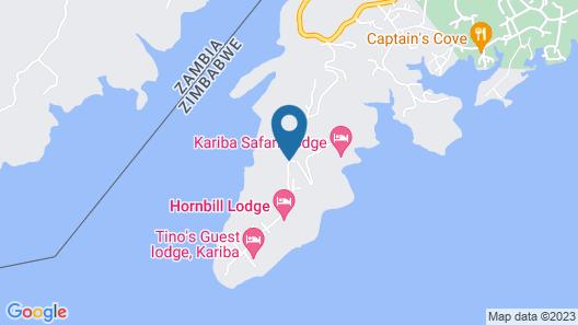 Kariba Safari Lodge Map