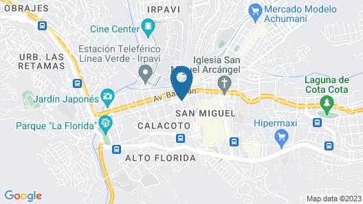 Casa Grande Express Map