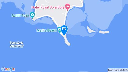 InterContinental Le Moana Resort Bora Bora, an IHG Hotel Map