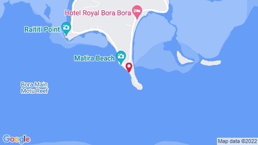 Your Home at the Best Beach of Bora Bora Map