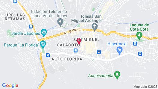 Casa Grande Hotel Map