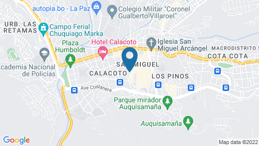 Apart Hotel Los Delfines Map