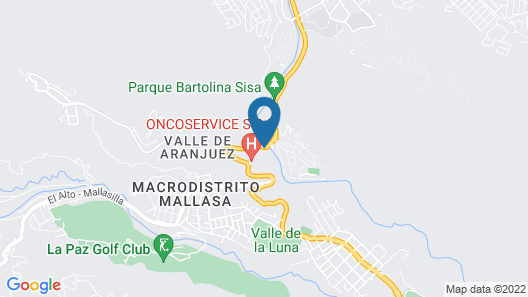 Rio Selva Resort Aranjuez Map