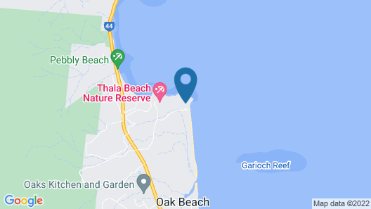 Thala Beach Nature Reserve Map