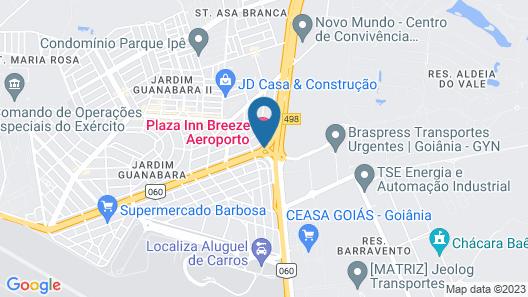 Plaza Inn Breeze Aeroporto Map