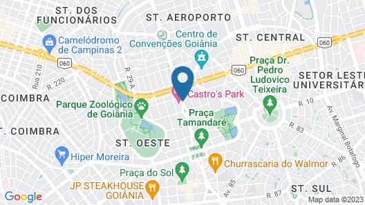 Castro's Park Hotel Map
