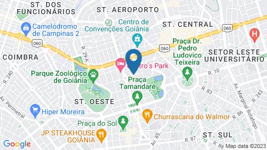 Flat Oeste La Residence Map