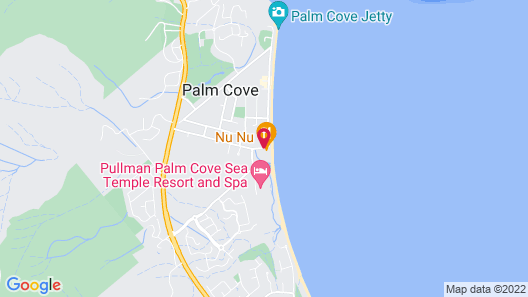 Alamanda Palm Cove by Lancemore Map