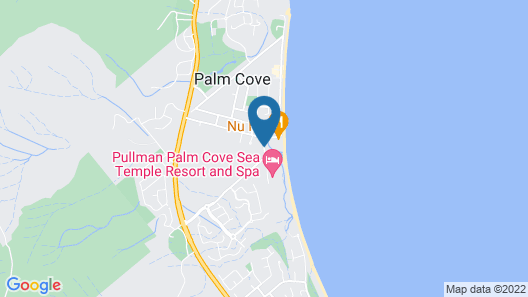 Pullman Palm Cove Sea Temple Resort and Spa Map