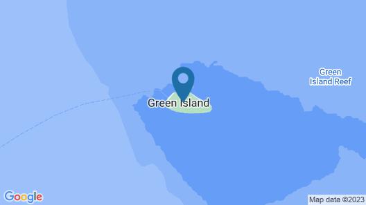Green Island Resort Map
