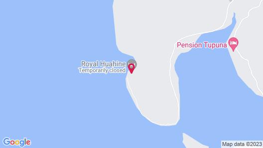 Royal Huahine Map