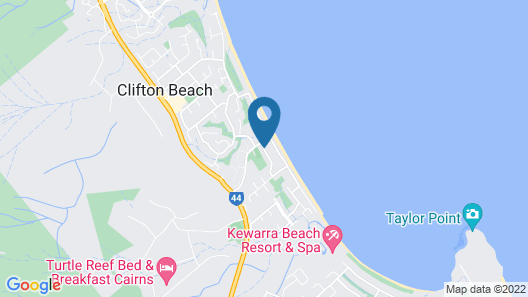 Clifton Sands Holiday Apartments Map