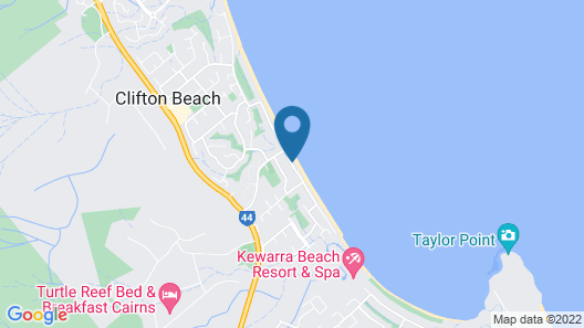 Agincourt Beachfront Apartments Map