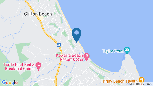 Dolce Vita Beachfront Holiday House Map