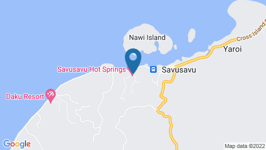 Savusavu Hot Springs Hotel Map