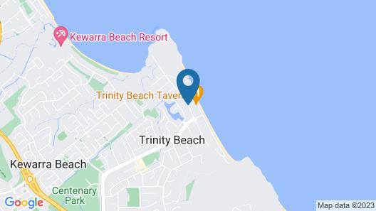 Vue Apartments Trinity Beach Map