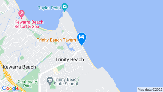 Roydon Beachfront Apartments Map