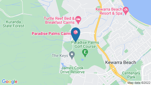Paradise Palms Resort Map