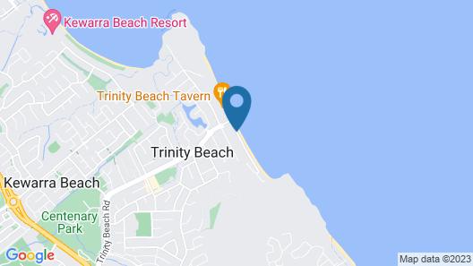 Sea Point On Trinity Beach Map