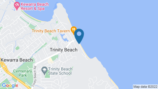 On the Beach Holiday Apartments Map
