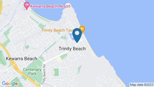 Trinity Beach Club Holiday Apartments Map