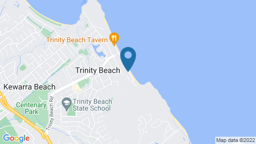 Sea Change Beachfront Apartments Map