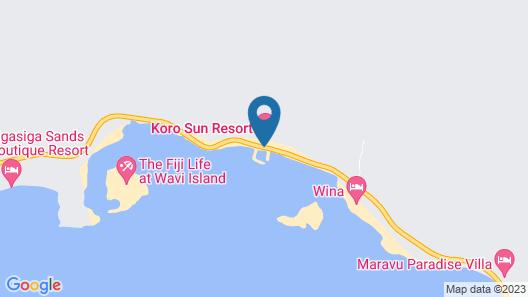 Koro Sun Resort Map