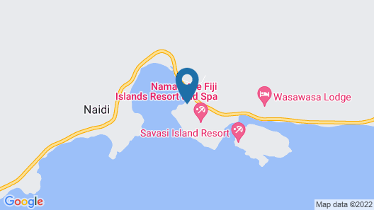 Namale Resort and Spa - All Inclusive Map